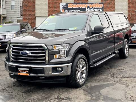 2017 Ford F-150 for sale at Somerville Motors in Somerville MA