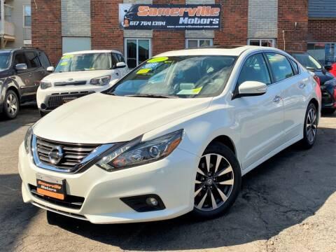 2017 Nissan Altima for sale at Somerville Motors in Somerville MA