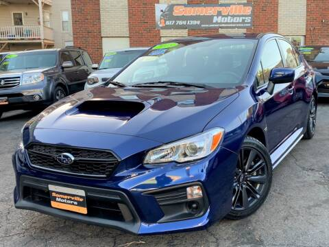 2018 Subaru WRX for sale at Somerville Motors in Somerville MA