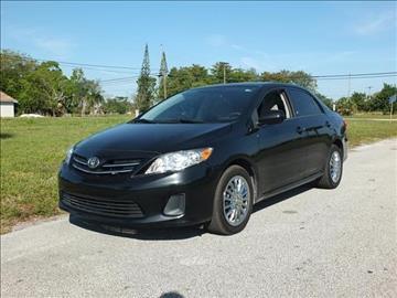 2013 Toyota Corolla for sale in Lake Worth, FL