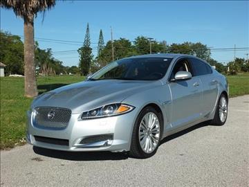 2012 Jaguar XF for sale in Lake Worth, FL