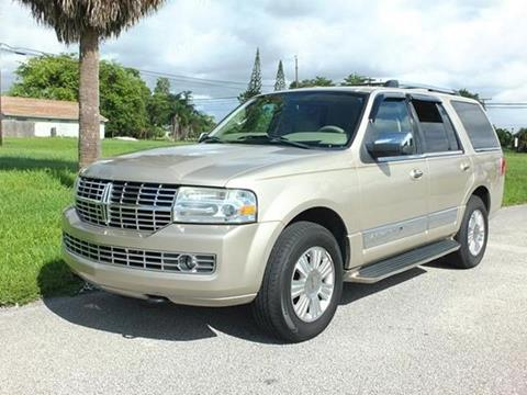 2007 Lincoln Navigator for sale in Lake Worth, FL