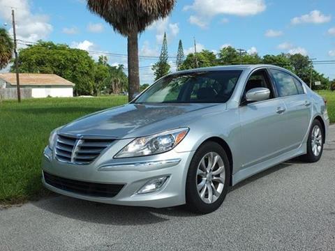 2013 Hyundai Genesis for sale in Lake Worth, FL