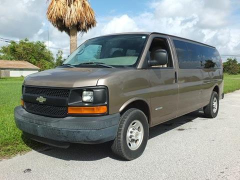 2004 Chevrolet Express Passenger for sale in Lake Worth, FL