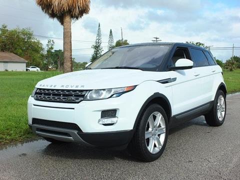 2015 Land Rover Range Rover Evoque for sale in Lake Worth, FL