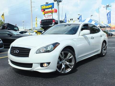 2013 Infiniti M37 for sale in Lake Worth, FL
