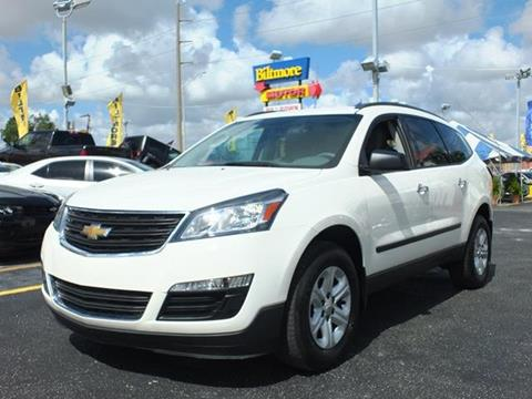 2015 Chevrolet Traverse for sale in Lake Worth, FL
