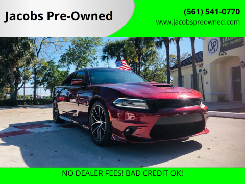2018 Dodge Charger for sale at Jacobs Pre-Owned in Lake Worth FL
