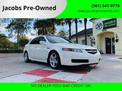 2006 Acura TL for sale at Jacobs Pre-Owned in Lake Worth FL