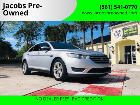2013 Ford Taurus SEL for sale at Jacobs Pre-Owned in Lake Worth FL