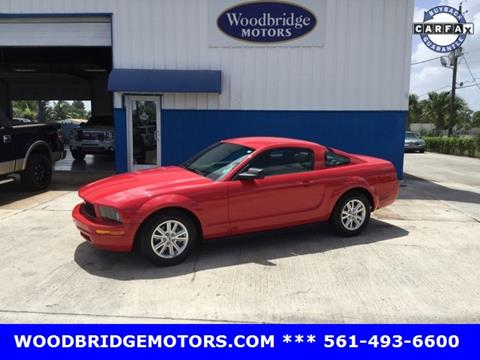 2008 Ford Mustang for sale in West Palm Beach, FL