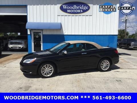 2012 Chrysler 200 Convertible for sale in West Palm Beach, FL