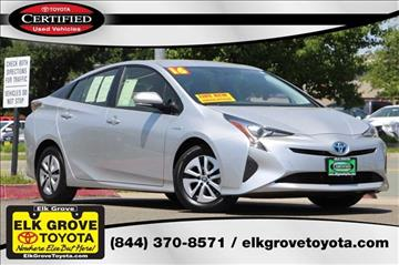 2016 Toyota Prius for sale in Elk Grove, CA