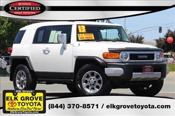 2013 Toyota FJ Cruiser for sale in Elk Grove, CA