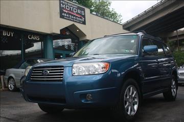 2008 Subaru Forester for sale in W Conshohocken, PA