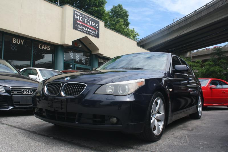 2007 bmw 5 series 530i in w conshohocken pa - pro-sport motors