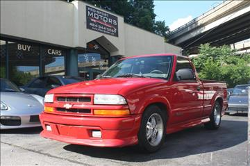 2002 Chevrolet S-10 for sale at Pro-Sport Motors in W Conshohocken PA