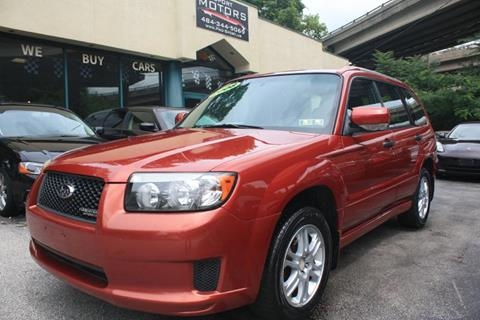 2008 Subaru Forester for sale at Pro-Sport Motors in W Conshohocken PA