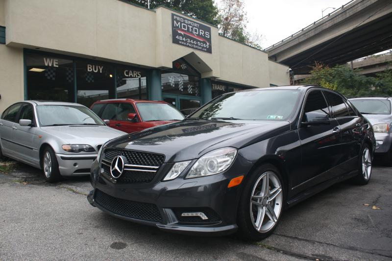 2011 Mercedes-Benz E-Class for sale at Pro-Sport Motors in W Conshohocken PA