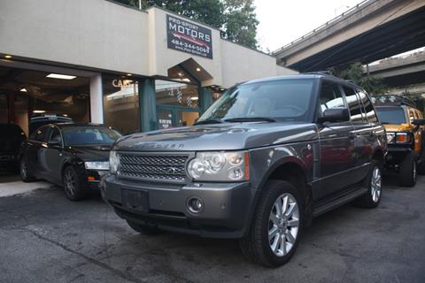 2008 Land Rover Range Rover for sale in W Conshohocken, PA