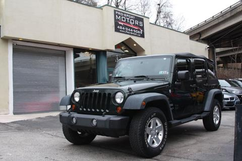 2010 Jeep Wrangler Unlimited for sale in W Conshohocken, PA