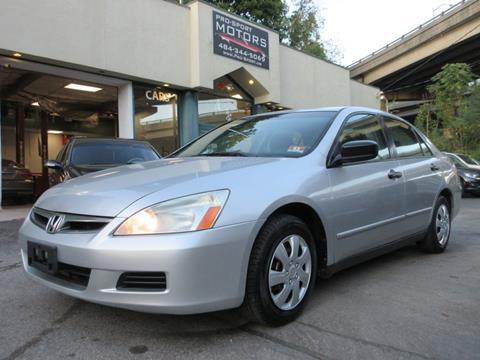2006 Honda Accord for sale in W Conshohocken, PA