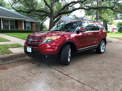 2013 Ford Explorer for sale in Houston, TX