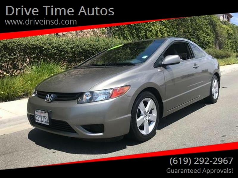 2007 Honda Civic For Sale At Drive Time Autos In Spring Valley CA