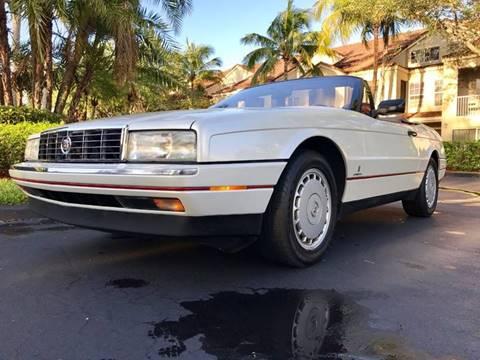 1992 Cadillac Allante for sale in Margate, FL
