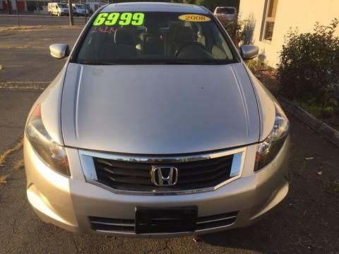 2008 Honda Accord for sale in Springfield, MA