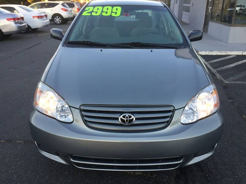 2003 Toyota Corolla For Sale At Best Value Auto Service And Sales In  Springfield MA