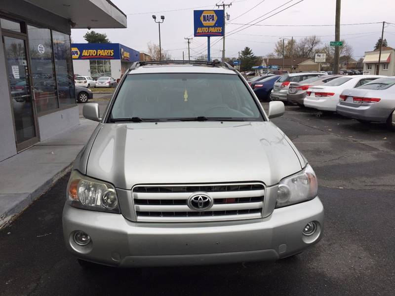 Toyota Highlander Limited In Springfield MA Best Value Auto - 2004 highlander