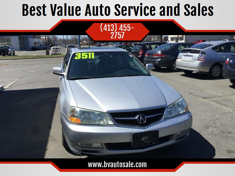 Acura TL In Springfield MA Best Value Auto Service And Sales - 2003 acura tl for sale