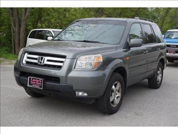 2007 Honda Pilot for sale at Ladys Auto Sales Inc in Manchester ME