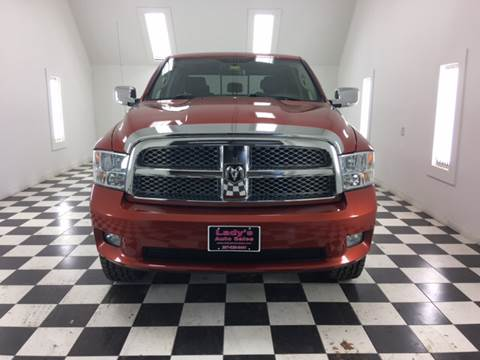 2009 Dodge Ram Pickup 1500 for sale at Ladys Auto Sales Inc in Manchester ME
