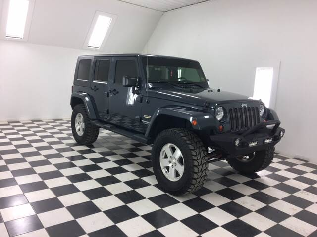 2008 Jeep Wrangler Unlimited for sale at Ladys Auto Sales Inc in Manchester ME