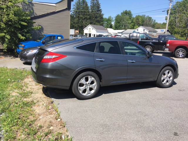 2010 Honda Accord Crosstour for sale at Ladys Auto Sales Inc in Manchester ME