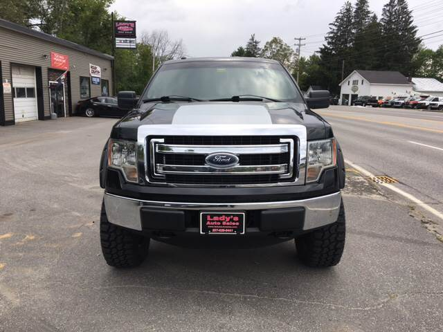 2013 Ford F-150 for sale at Ladys Auto Sales Inc in Manchester ME
