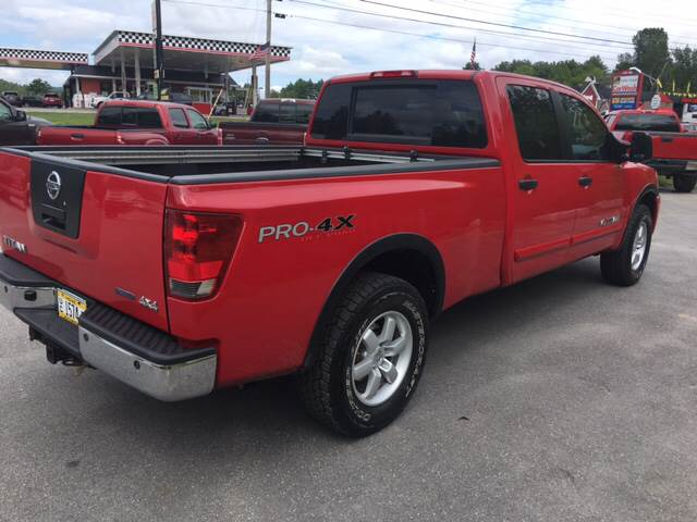 2008 Nissan Titan for sale at Ladys Auto Sales Inc in Manchester ME