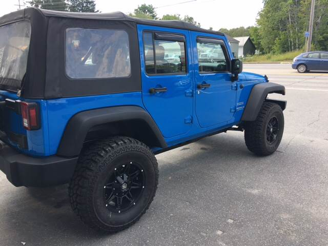 2012 Jeep Wrangler Unlimited for sale at Ladys Auto Sales Inc in Manchester ME