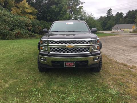 2015 Chevrolet Silverado 1500 for sale at Ladys Auto Sales Inc in Manchester ME