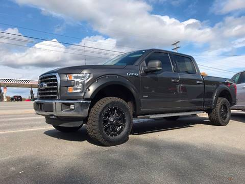 2015 Ford F-150 for sale at Ladys Auto Sales Inc in Manchester ME