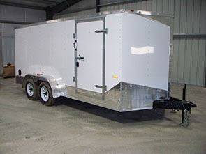 2017 RC Enclosed Trailer 7'16' for sale in Pittsburgh PA