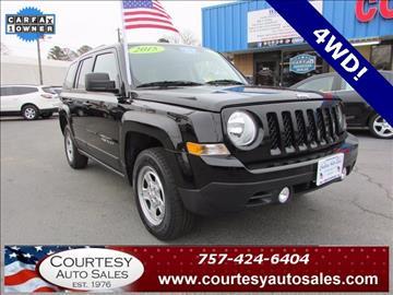 2015 Jeep Patriot for sale in Chesapeake, VA