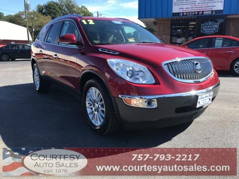 2012 Buick Enclave for sale in Chesapeake, VA