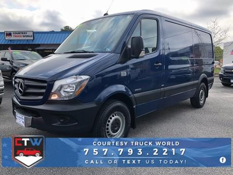2014 Mercedes-Benz Sprinter Cargo for sale in Chesapeake, VA
