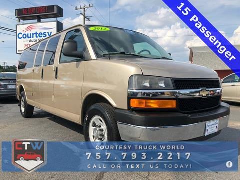 2012 Chevrolet Express Passenger for sale in Chesapeake, VA