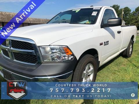 2015 RAM Ram Pickup 1500 for sale in Chesapeake, VA