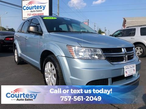 2013 Dodge Journey for sale in Chesapeake, VA