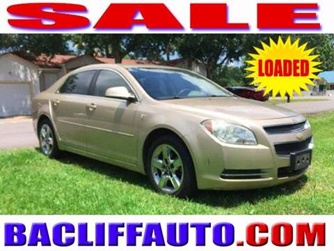 2008 Chevrolet Malibu for sale in Bacliff, TX